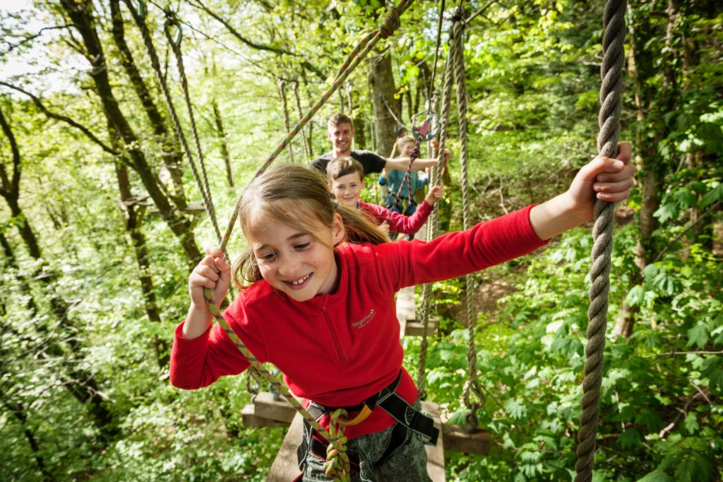 Family Ticket for Tree Surfers High Ropes