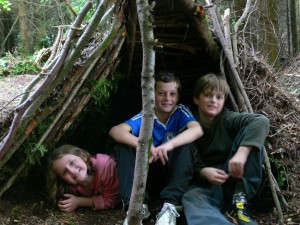 Kids Go Wild In The Woods at Tree Surfers and Tamar Trails