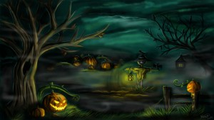 Halloween for children at Tree Surfers