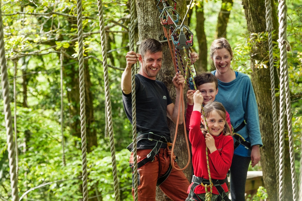 Family Activities at Tree Surfers